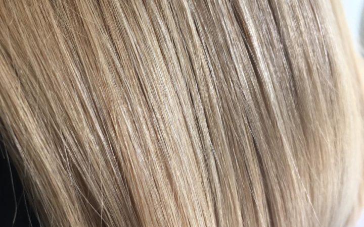 النتيجة بعد استخدام babaçu miracle على الشعر الضعيف
